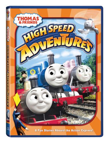 high speed adventures dvd thomas the tank engine videos