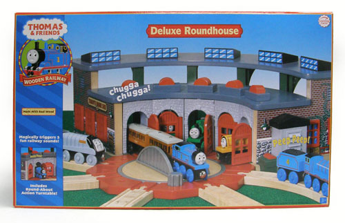 Deluxe Roundhouse - Thomas the Tank Engine Wooden Railway Trains