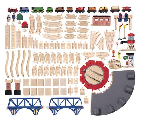 Roundhouse Set - Thomas the Tank Engine Wooden Railway Trains
