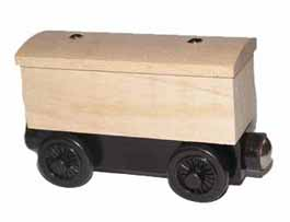 Unfinished Box Car (Unpackaged)