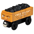 Fred the Orange Coal Car